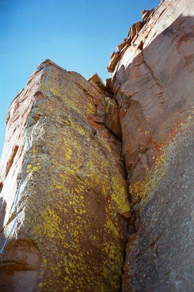 Rock Climbing Photo: Beta intensive crux