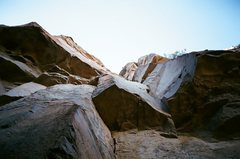 Rock Climbing Photo: This double roof section is on great rock which is...