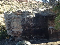 Rock Climbing Photo: East face of Kalty Block.
