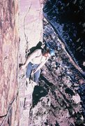 Rock Climbing Photo: Pretty exposed belay stance!