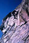 Rock Climbing Photo: Finishing the route! Wow!
