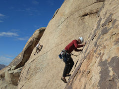 Rock Climbing Photo: Sipu on Dos Chi Chi's.