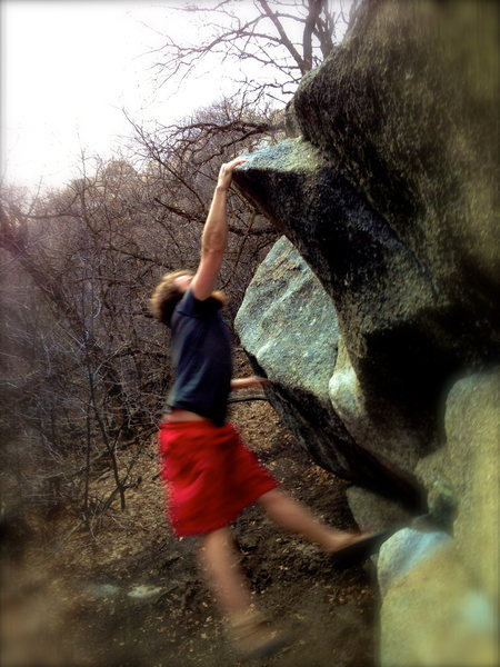 Rock Climbing Photo: Diggit