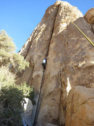 Rock Climbing Photo: Rick climbing Too Secret To Find.