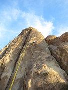 Rock Climbing Photo: Rick on Balance Due.