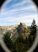 Rock Climbing Photo: Obligatory Half Dome shot last season