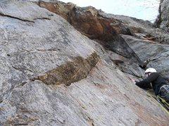 Rock Climbing Photo: The Hohe top off