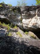 Rock Climbing Photo: Der Riss