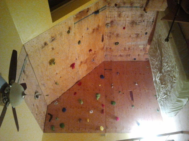 wall with holds