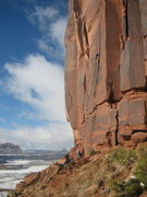 Rock Climbing Photo: A beautiful winter day.