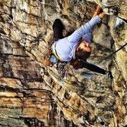 Rock Climbing Photo: Tedi Setton on Feast of Fools P1