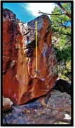 Rock Climbing Photo: Wow Signal problem beta.