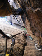 Rock Climbing Photo: 5th Pitch- 40m- 5.11d