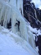 Rock Climbing Photo: Launching onto Crystal Meth.