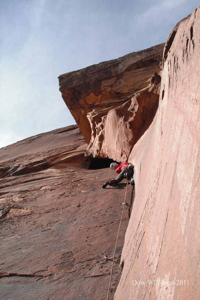 4th Pitch- 100'- 5.11d