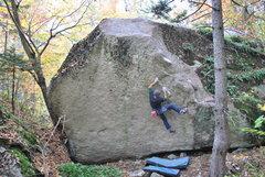 Rock Climbing Photo: Emmanuel Hudon on The Eliminator