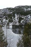 Rock Climbing Photo: Chapel pond on 2013-11-30