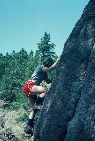 Rock Climbing Photo: More bouldering...Flagstaff, Boulder.