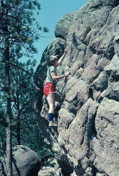 Anne on Flagstaff...