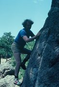 Rock Climbing Photo: Rodger on an easy one...