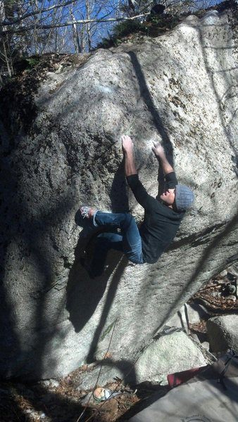Emmanuel Hudon on the first ascent of French Faith