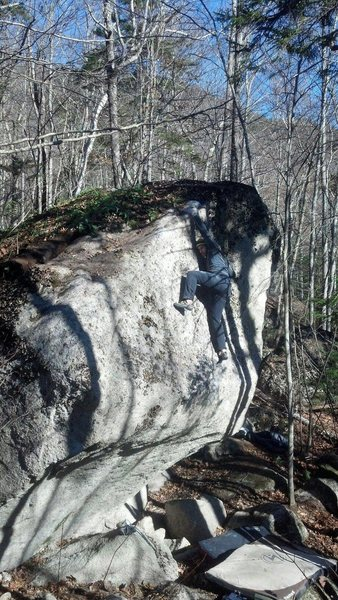 Rock Climbing Photo: Jean-Nick Brodeur on the FA of Friends of the Bord...