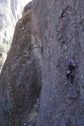 Rock Climbing Photo: Ridiculously chossy 5.9