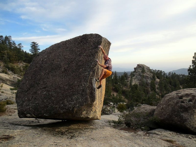 Rock Climbing Photo: the granite wave.