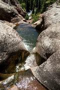 Rock Climbing Photo: Hays Creek.