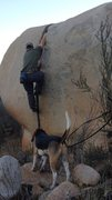 Rock Climbing Photo: Climbed this one before I knew it was an establish...