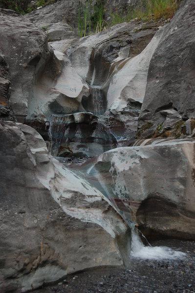 Rock Climbing Photo: Lower Angel Creek, Ouray, CO.