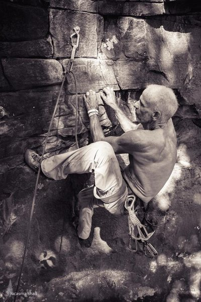 Rock Climbing Photo: During 24 Hours of Horseshoe Hell