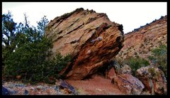 Rock Climbing Photo: Jungle Pimp problem beta.