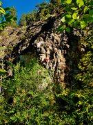Rock Climbing Photo: Hucky Sucky Baby!