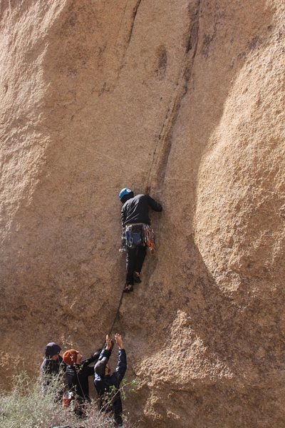 Rock Climbing Photo: You're gonna want a spot at the start.