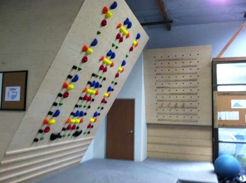 Rock Climbing Photo: System Wall @ The Factory Bouldering Gym.