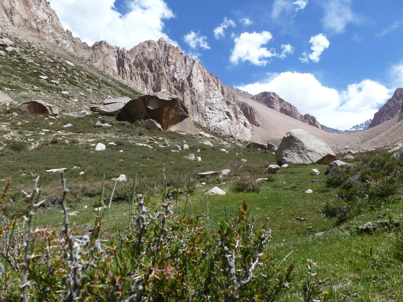 Rock Climbing Photo: A view from the refugio