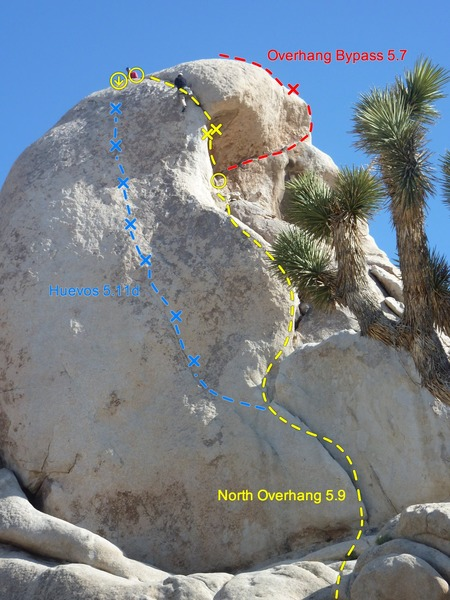 Rock Climbing Photo: The full route
