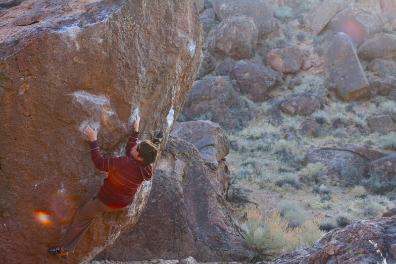 Rock Climbing Photo: sucker punch