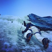 Rock Climbing Photo: Tahoe ice