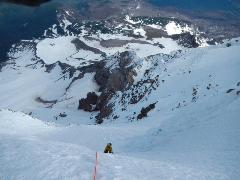 Sandy Glacier Headwall