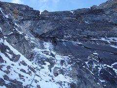 Rock Climbing Photo: Paul Gardner on P1