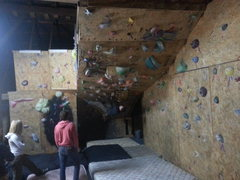 Rock Climbing Photo: Barn wall