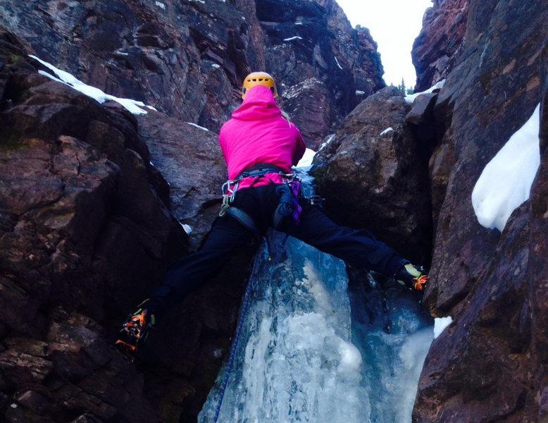 Rock Climbing Photo: Colorado ice…..November 2013