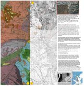 Rock Climbing Photo: Shelf Road geology map composite