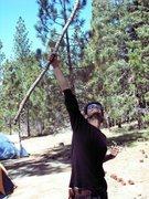 Rock Climbing Photo: Me at Angelous Oaks
