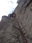 "Rock Climbing Photo: kangaroo corner, everyones first ""11a"" t..."