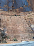 Rock Climbing Photo: A view from across the street.  This photo makes t...