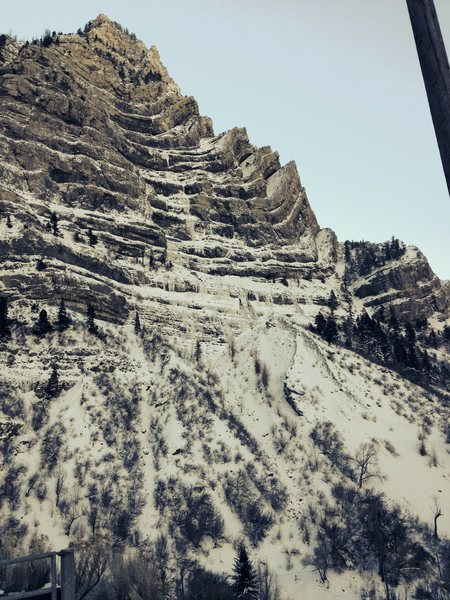 Rock Climbing Photo: some quick pics of provo canyon today.
