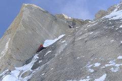 Rock Climbing Photo: Clint H. leading the Prow. Photo courtesy Ryan Joh...